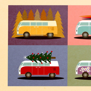 Vintage Hippie Van Adventures