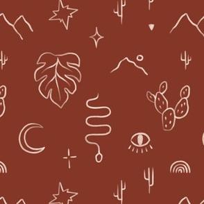 Boho Symbols / Desert Island