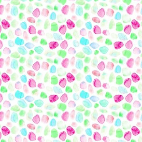 whimsical watercolor spots - pastel stains - abstract modern pattern for nursery baby kids p330