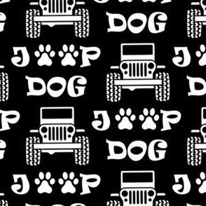 "jeep dog 2"" black"