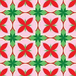 christmas mosaic tiles by rysunki_malunki