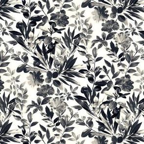 Split Toned Black and White Botanical Garden - small