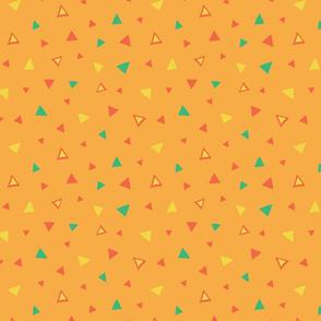 triangles confetti by rysunki_malunki