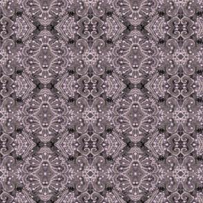 Wool Arabesque Pattern Taupe  Julia Khoroshikh 2020 3