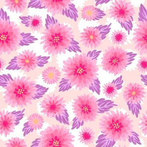 Cute floral pattern - pink