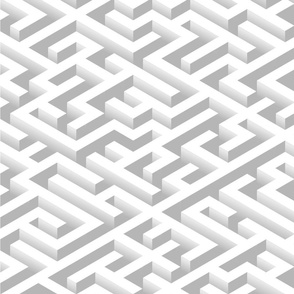 Maze white