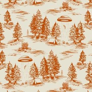 Small-Scale Orange Alien Abduction Pattern