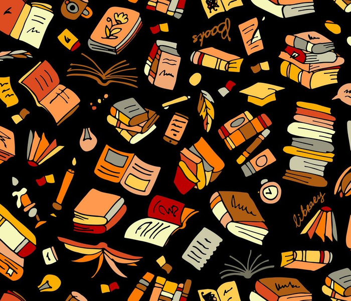 Book Library Wallpapers