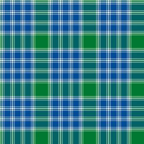 """MacDonald Lord of the Isles tartan - 6"""" custom lakeside colors bright"""
