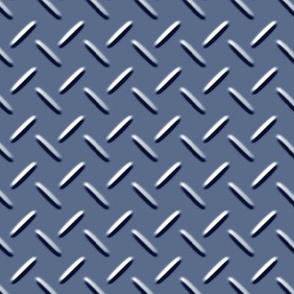 Diamond Plate Blue
