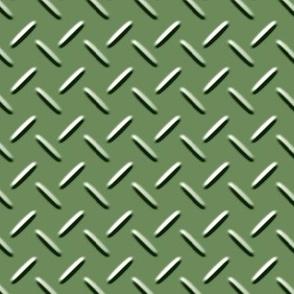 Diamond Plate Green