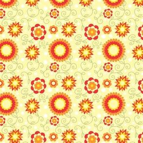 summer sun flowers