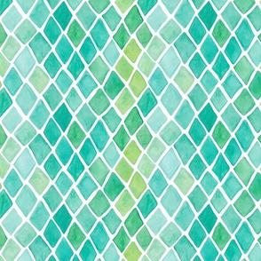 Emerald Mosaic ORIGINAL SCALE