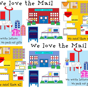WE LOVE THE MAIL