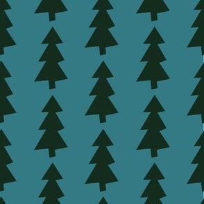 Emerald Christmas Forest