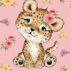 26x36 cheetah blanket