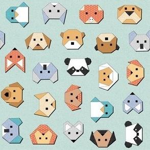 Origami Animal Faces (regular)