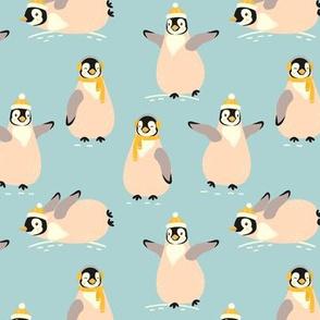 Warming up Penguins