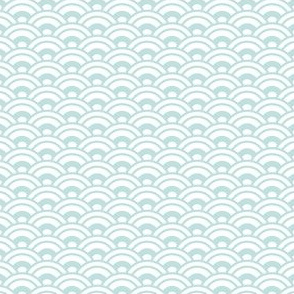 Japanese Nested Scales / Waves - Blue