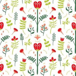 Folk Art Floral Dream - Xmas (small)