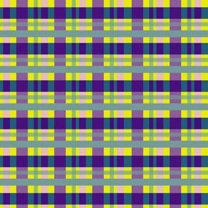 Plaid_Violet Yellow