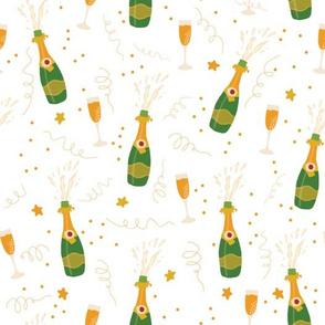 Champagne Celebration White