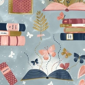 Books Reading Dreaming
