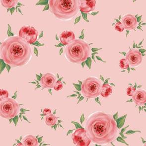 floral pink medium