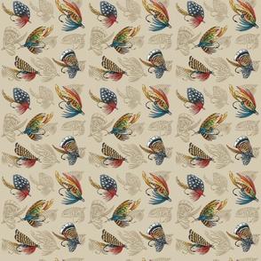 Fishing Flies Pattern