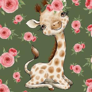 26x36 giraffe blanket