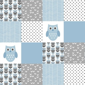 BLUE OWL PATCHWORK