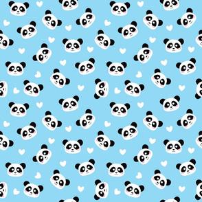 Cute Panda light blue - M