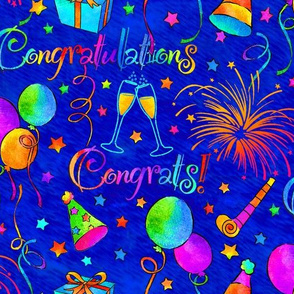 Congratulations on Blue