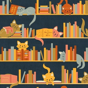 Cozy Cats and Books