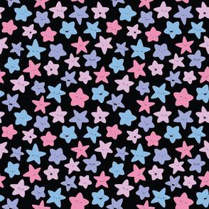 Kawaii Pastel Stars - S