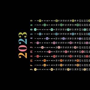 Floral - Calendar 2021 - Blue