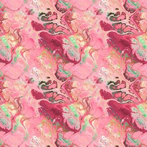 MEDIUM LIKE A BUTTERFLY MARBLE raspberry mint FLWRHT