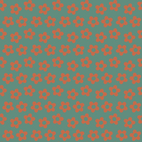 Perry, teal & orange