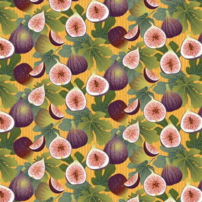 Sunshine Figs & Leaves