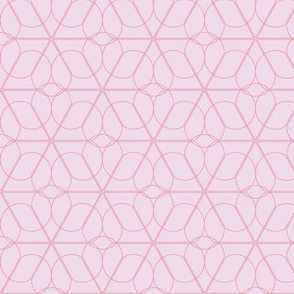 flower lattice - pink