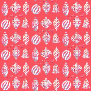 bauble 4 - coral
