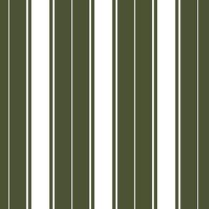 green chive french stripe boat neck marine sailor nautical polo shirt multi stripe reversed vertical
