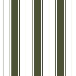 green chive french stripe boat neck marine sailor nautical polo shirt multi stripe vertical