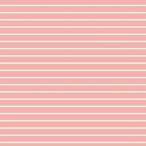 pink blossom french stripe boat neck marine sailor nautical polo shirt breton stripe solid reversed horizontal