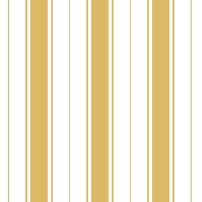 yellow french stripe boat neck marine sailor nautical polo shirt multi stripe vertical