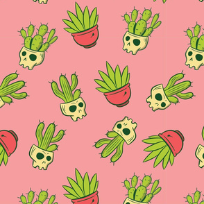 Cactus Skulls