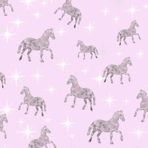 pink sweet dreams horses