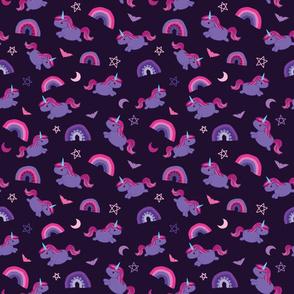 Pastel Goth Unicorn - M