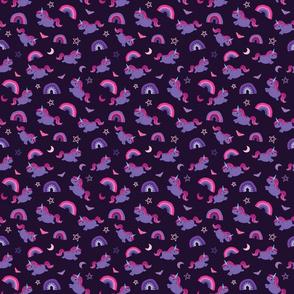 Pastel Goth Unicorn - S