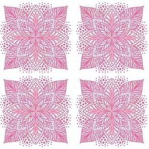 Pink Flower Mandala